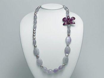 Collana Miluna in argento con perle I Segreti Della Terra PCL4835