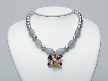 Collana Miluna in argento con perle I Segreti Della Terra PCL4836