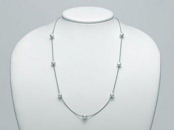 Collana Miluna in argento con perle Trendy PCL4898AG