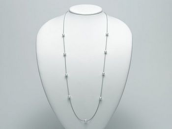 Collana Miluna in argento con perle Trendy PCL4899AG
