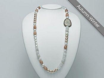 Collana Miluna in argento con perle I Segreti Della Terra PCL4908