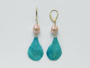 Orecchini Miluna in argento con perle I Segreti Della Terra PER2060