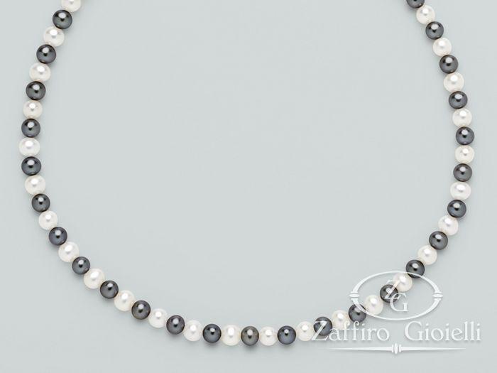 Filo di perle nero Miluna Multicolor 1MOZ455