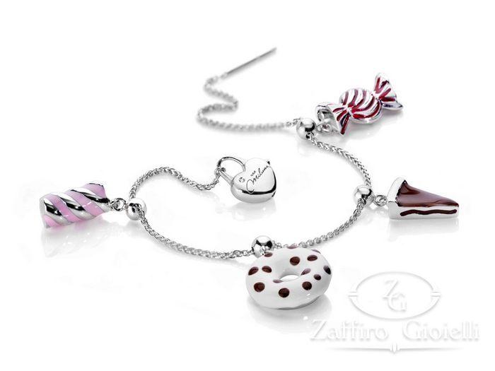 Bracciale Miluna in argento Love BRD658AG