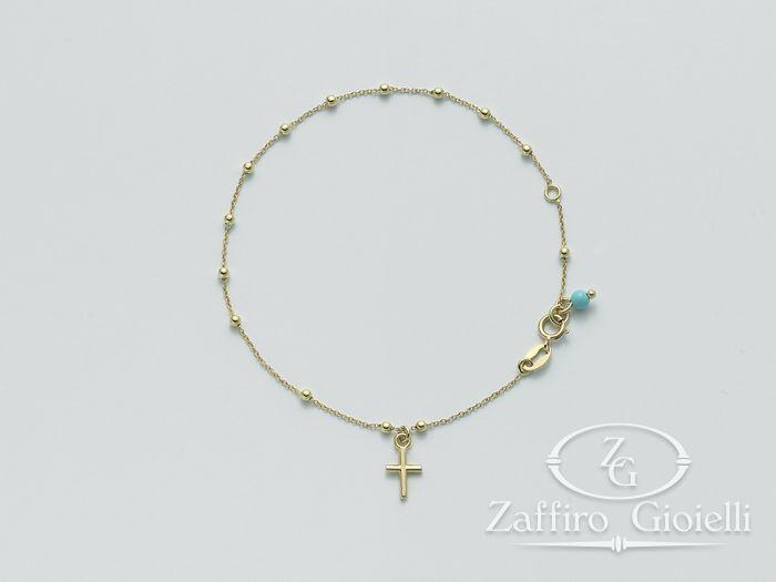Bracciale Miluna in oro Oro 375 Baby - Piccole Gioie BRD807X