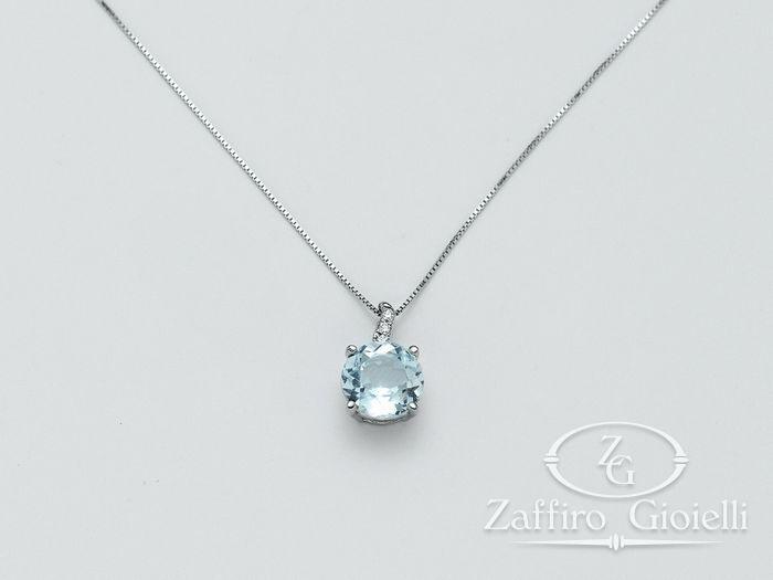 Collana Miluna in oro e diamanti Oro 375 Parure Gemma Del Cielo CLD3073X