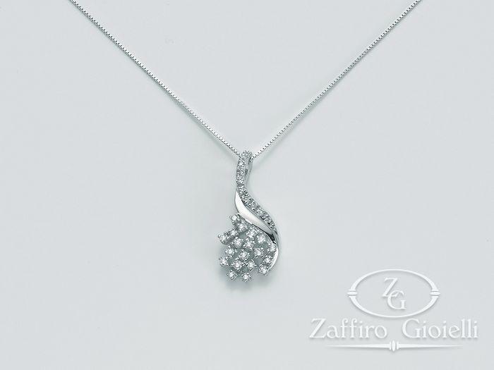 Collana Miluna in oro e diamanti Divina CLD3306