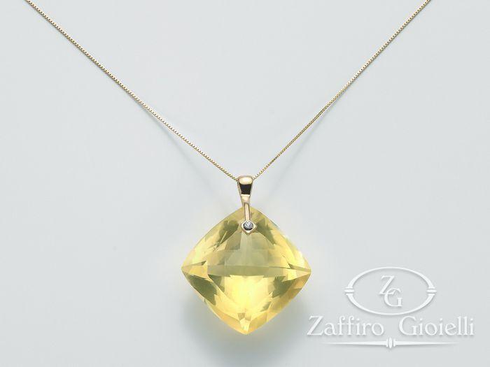 Collana Miluna in oro e diamanti Invisible Cut CLD3447G