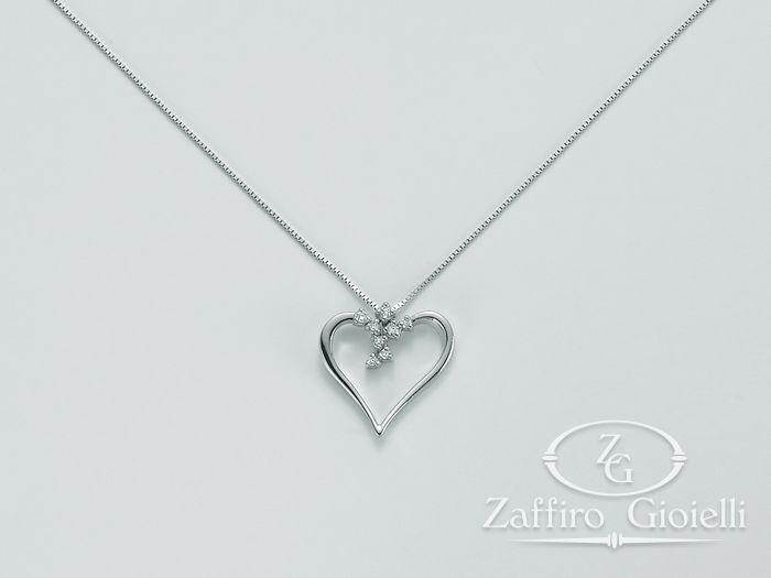 Collana Miluna in oro e diamanti I Cuori In Diamanti CLD3665