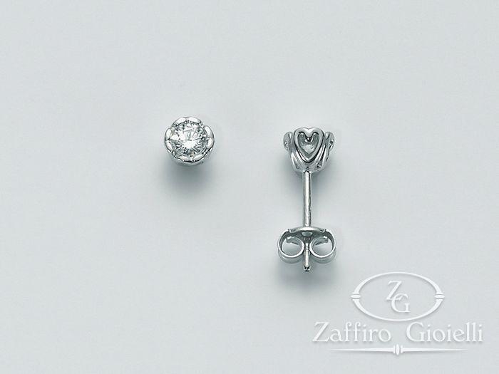 Orecchini Miluna in oro e diamanti I Punti Luce Orecchini H Si ERD1862_008S