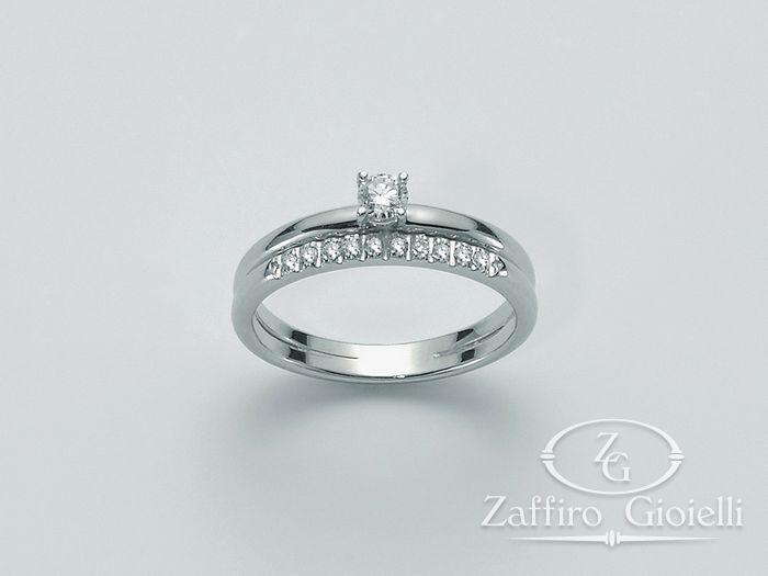 Anello Miluna in oro e diamanti I Solitari H Si LID2734_009S