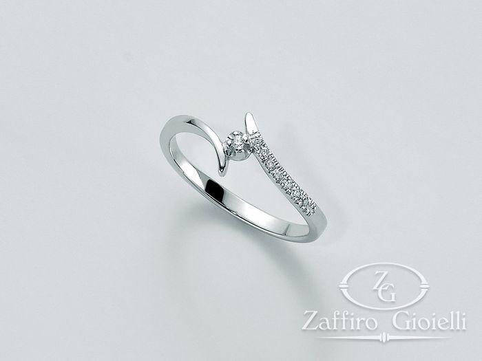 Anello Miluna in oro e diamanti Parure Diamanti LID2926