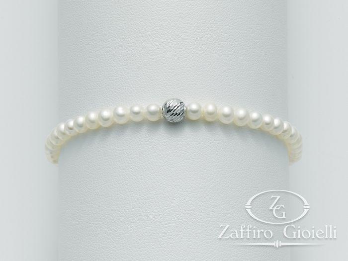 Bracciale Miluna in oro con perle Oro 375 I Bracciali Perle PBR1563X