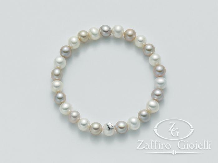 Bracciale Miluna in argento con perle Perle Fashion PBR1670