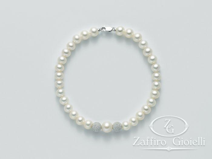 Bracciale Miluna in oro con perle Filo Della Bellezza PBR1945