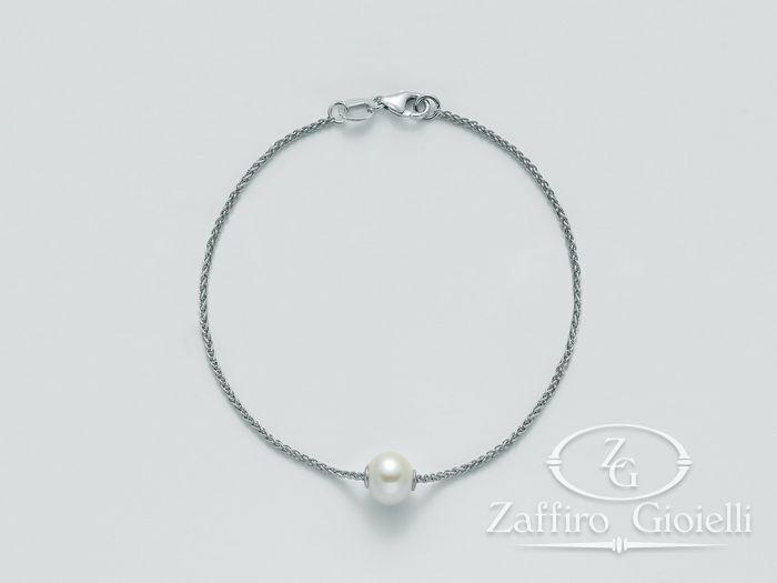 Bracciale Miluna in argento con perle Trendy PBR2232AG