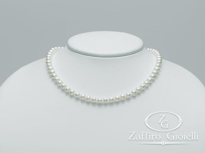 Collana Miluna in oro con perle Perle Fashion PCL4244V