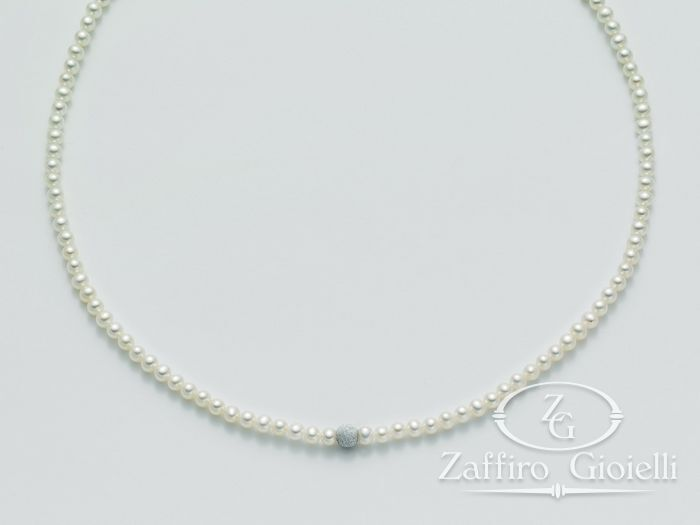 Collana Miluna in oro con perle Filo Della Bellezza PCL4523
