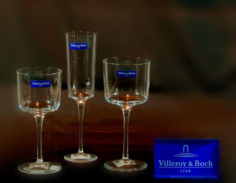 Servizio Bicchieri Pz. 36 Villeroy & Boch SRB17